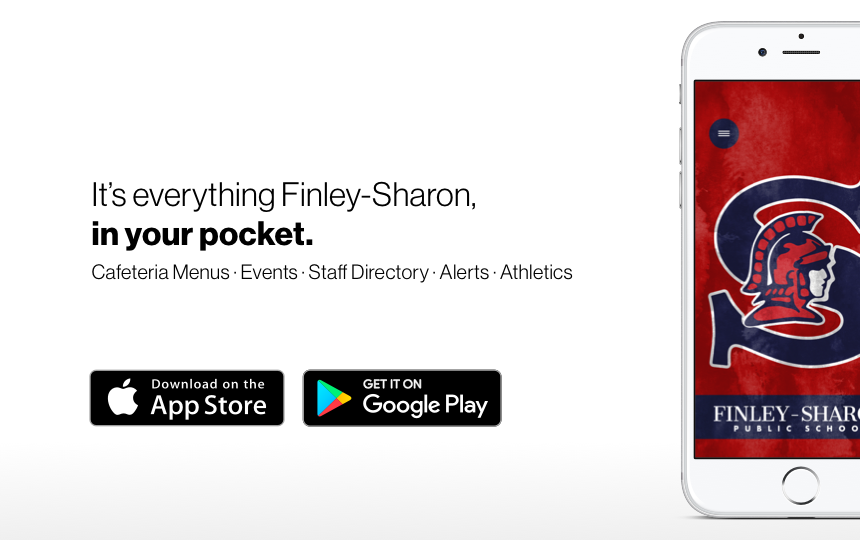 Download the Finley-Sharon School App today!