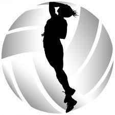 volleyball image.girl hitting