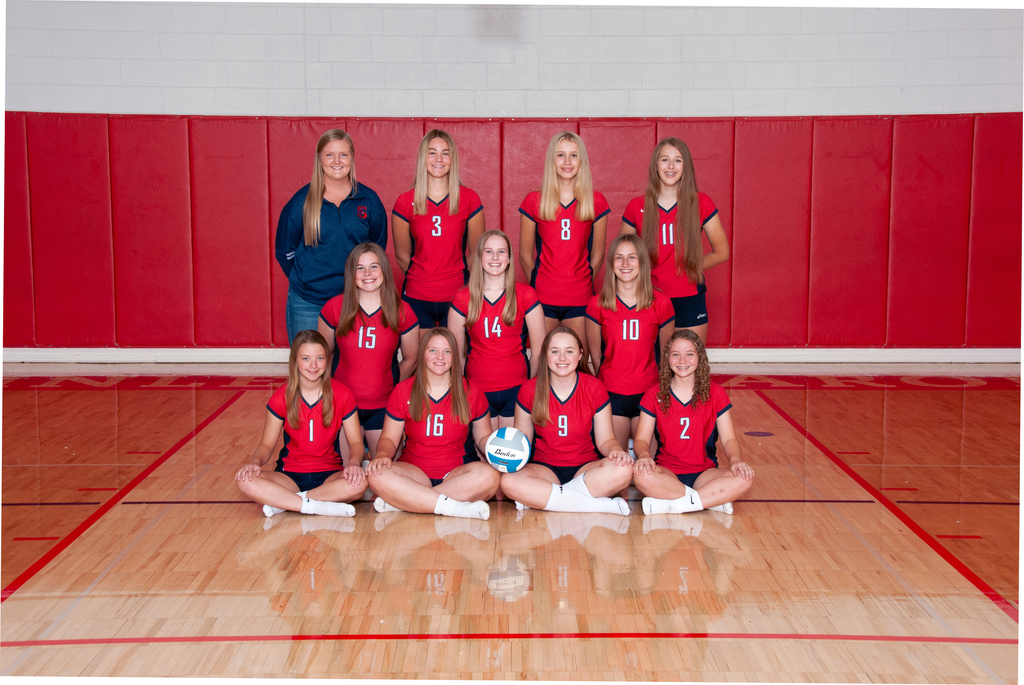 JV VB Team